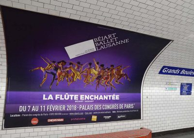 Affiche Ballet Béjart Lausanne