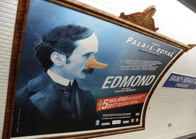 Edmond d'Alexis Michalik - 4x3 Métro
