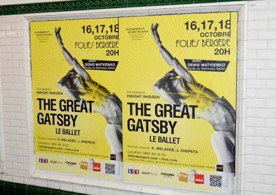 Gatsby Folies Bergere Metro