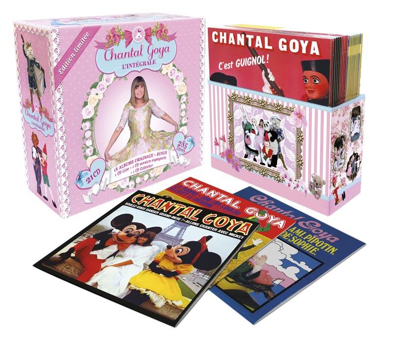 Chantal Goya – CD – DVD