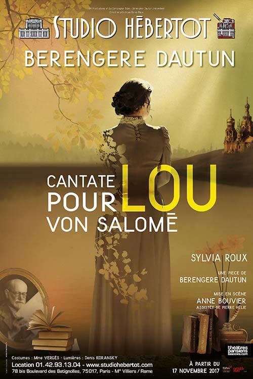 Cantate pour Lou Von Salomé – Studio Hébertot