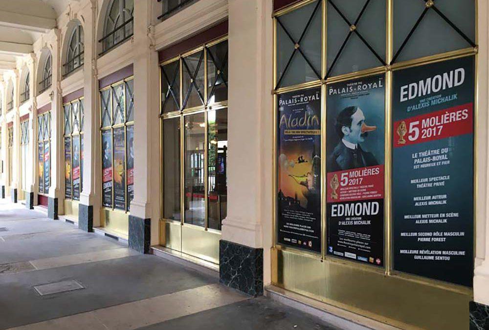 Mermon habille le Théâtre du Palais-Royal