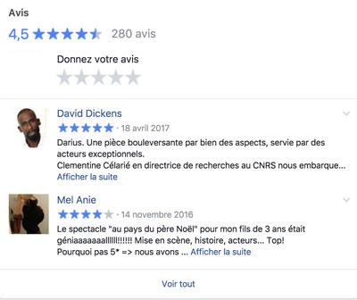 Facebook Théâtre des Mathurins