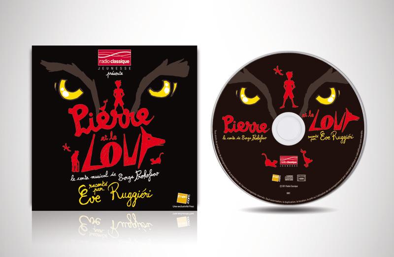 CD Pierre et le Loup pour Radio Classique