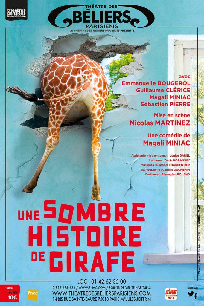Une sombre histoire de girafe – Les béliers parisiens
