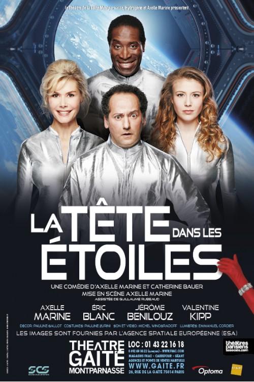 La Tête dans les étoiles, d'Axelle Marine, Théâtre de la Gaîté Montparnasse