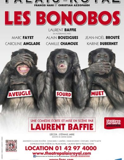 Bonobos PalaisRoyal 40x60