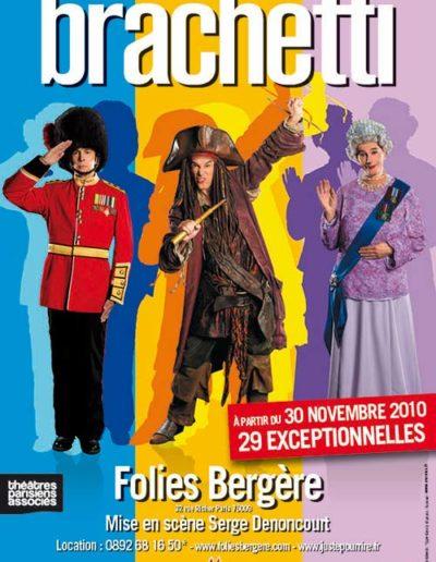 Brachetti FoliesBergere Personnages 40x60