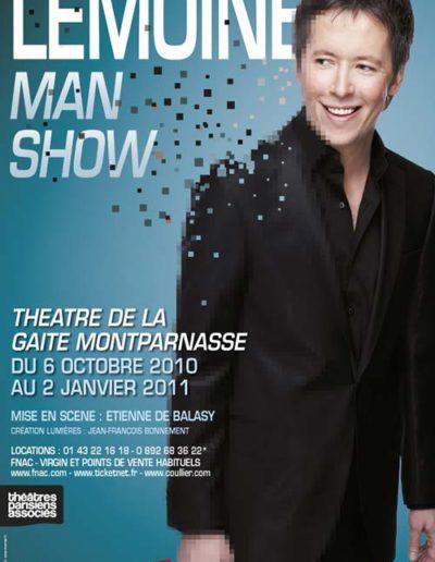 Lemoine ManShow Gaite 40x60