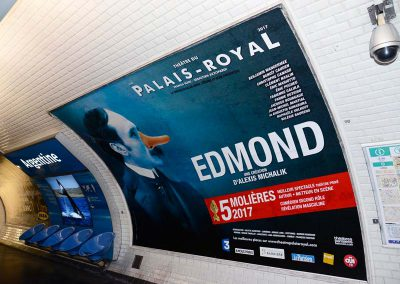 Edmond Palais Royal Metro