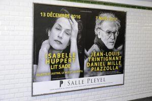 Les visiteurs du soir - Isabelle Huppert et Jean-Louis Trintignant