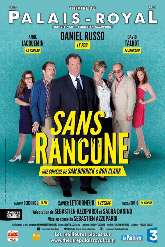 Sans Rancune – Théâtre du Palais-Royal