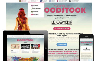 Welcome to Woodstock : le site