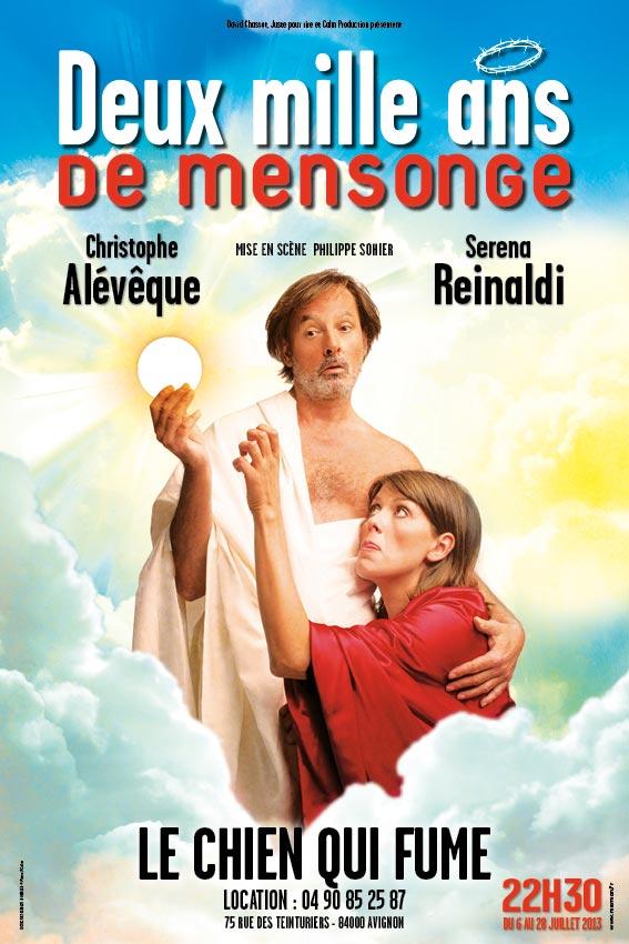 Christophe Alévêque - 2000 ans de mensonge - Avignon