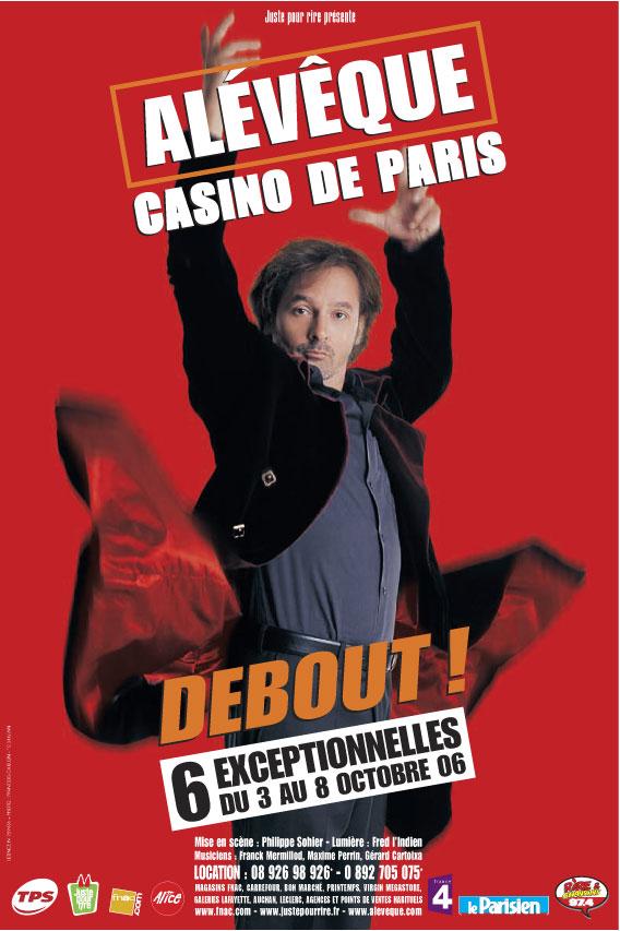 Christophe Alévêque - Debout !
