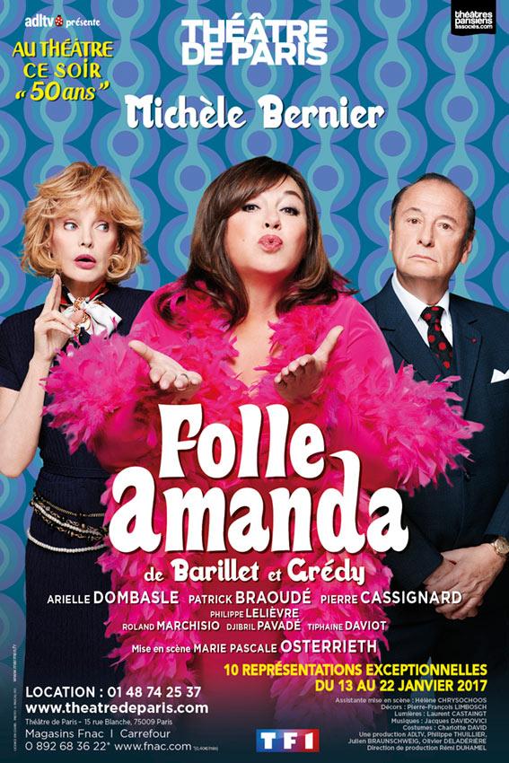 Michèle Bernier - Folle Amanda