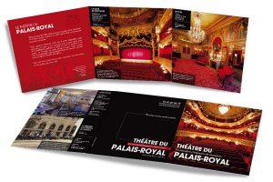 Plaquette événementielle Théâtre du Palais-Royal