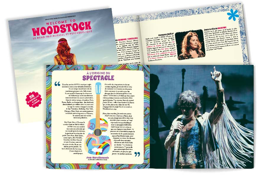 Programme Welcome to Woodstock