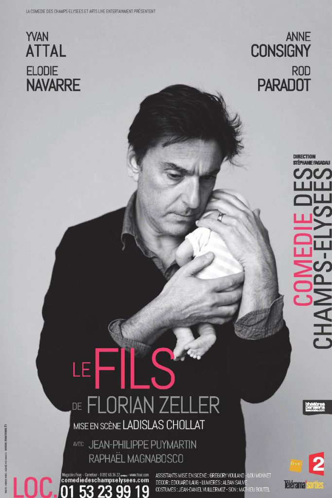 Le Fils, de Florian Zeller avec Yvan Attal à la Comédie des Champs-Élysées