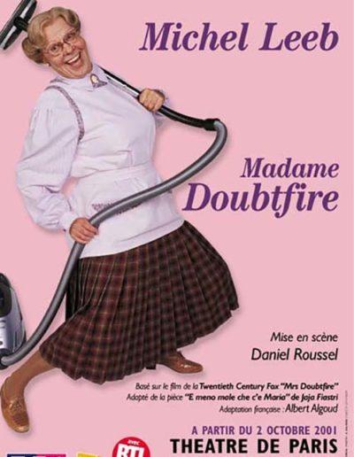 DOUBTFIRE 40X60 TH PARIS 01