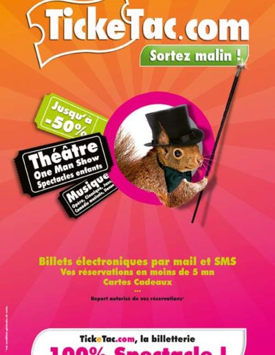 Ticketac 100x150 Generique