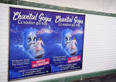 Chantal Goya Soulier Metro