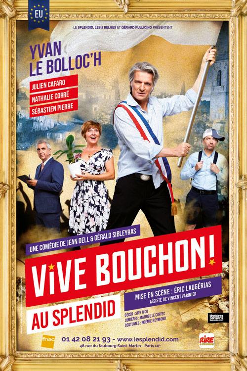 Affiche théâtre vive bouchon