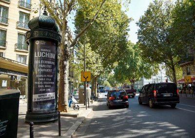 Fabrice Luchini Porte St Martin Colonne