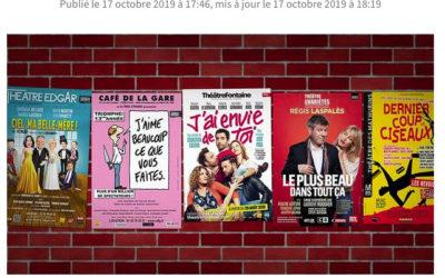 Ode aux affiches de théâtre moches