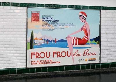 Frou Frou Les Bains Edouard 7 Metro Janvier 2020